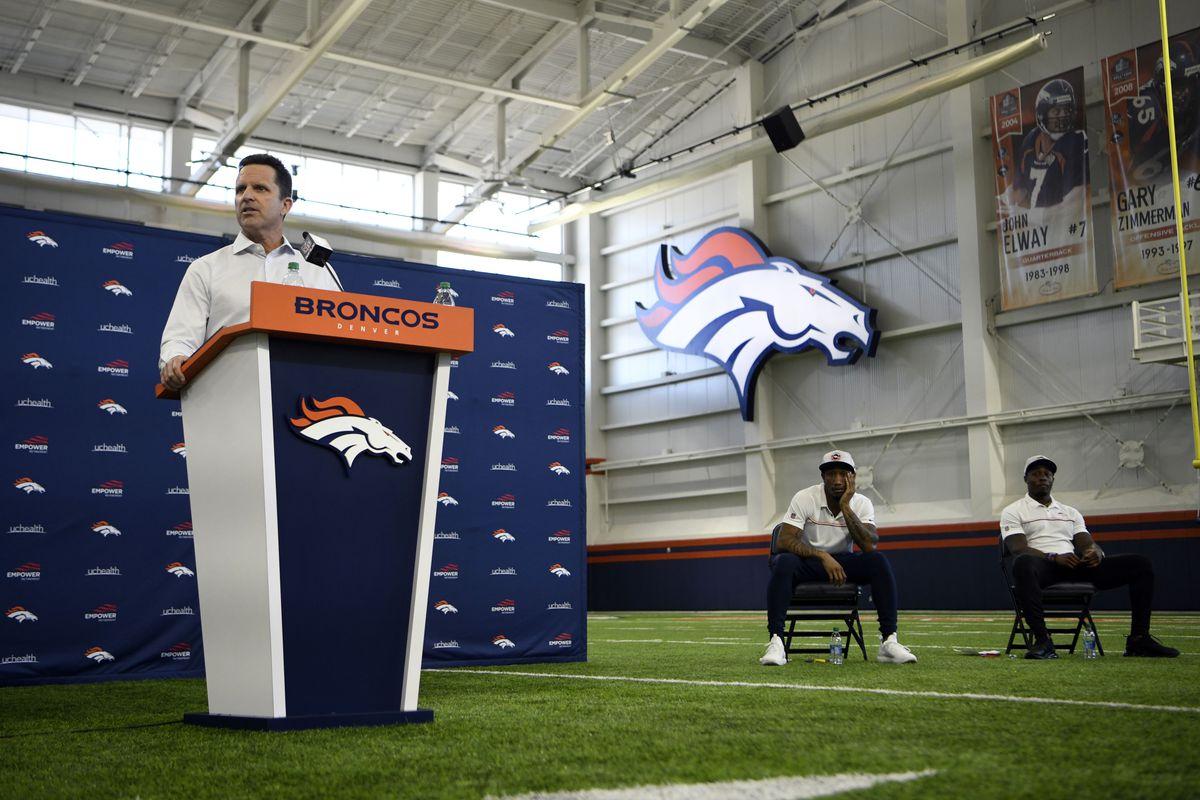 Denver Broncos Free Agency Press Conference