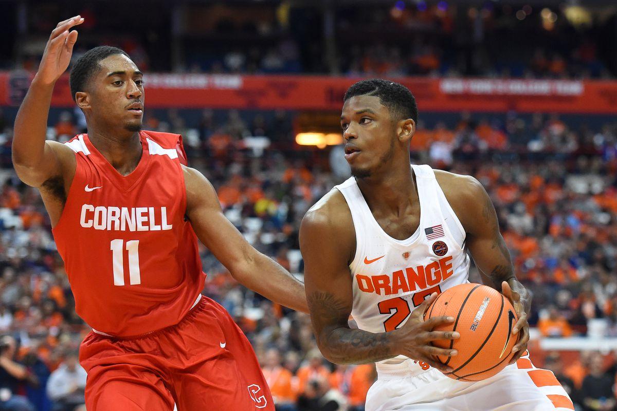 Final Score Syracuse 77 Cornell 45 Troy Nunes Is An