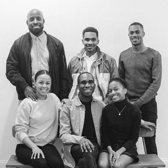 Top (left to right) John Onwuchekwa, Marcus Hollinger, Khalid Smith; Bottom: (left to right) Shawndra Onwuchekwa, Aaron Fender, Erin Fender