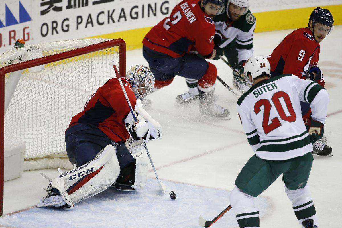 NHL: Minnesota Wild at Washington Capitals
