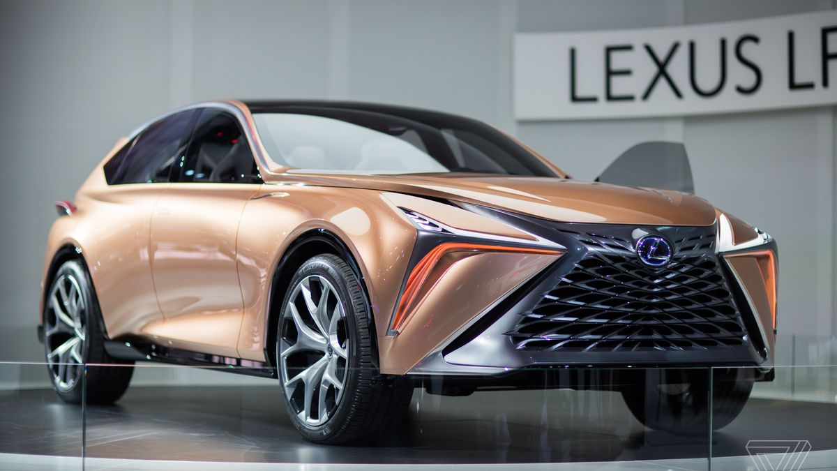 The Lexus LF Limitless Concept Is A Futuristic Rose Gold Stunner - Concept car show
