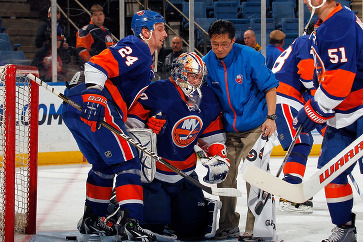 """You know what they say, <em>""""you've got to be good to be lucky""""</em>... this does not apply to the Islanders"""