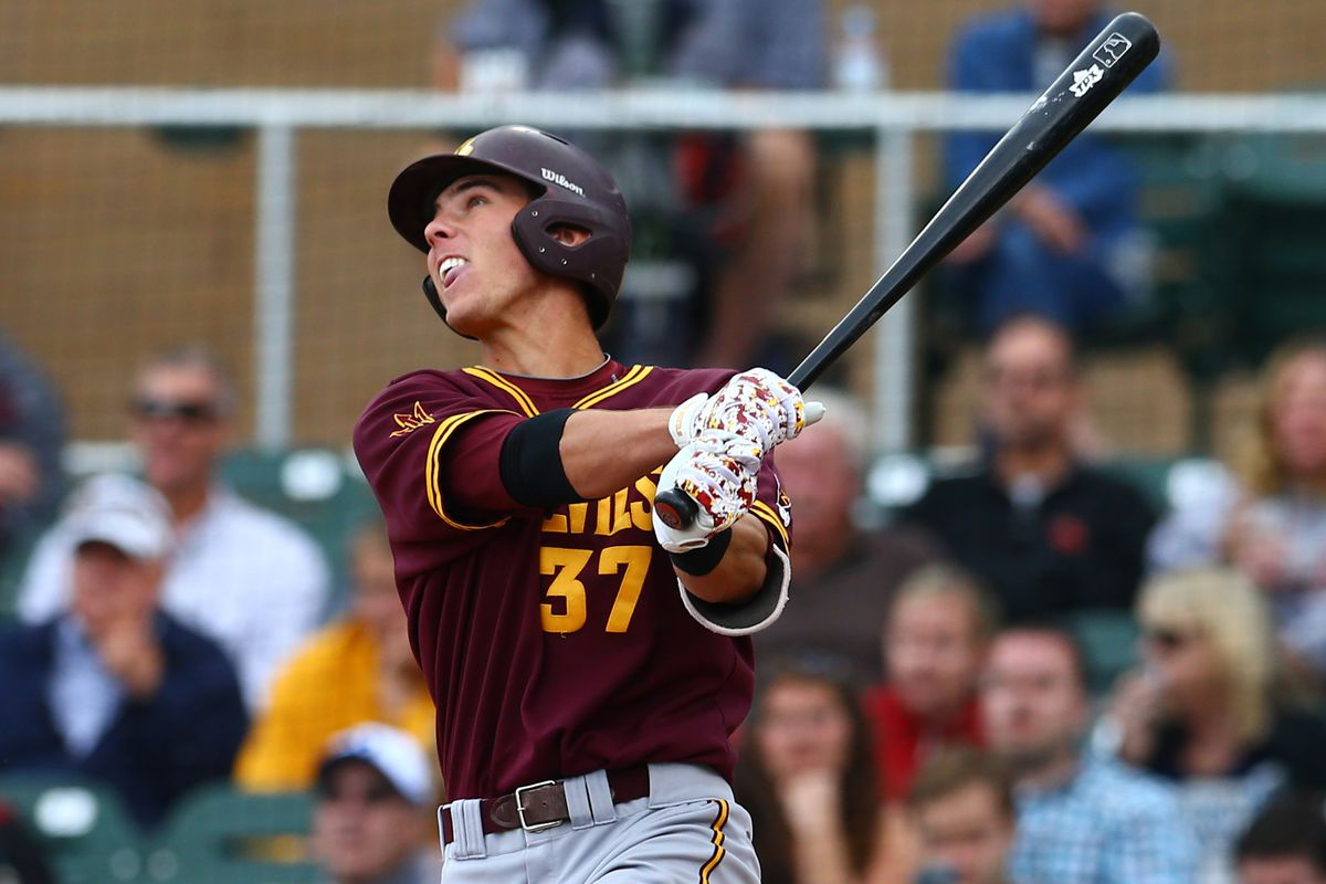 Arizona State Shortstop Colby Woodmansee Leads The Sun Devils Into The Fullerton Regional
