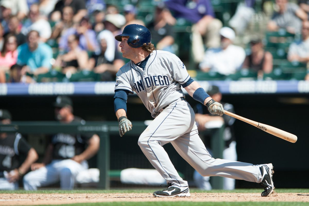 A very happy birthday to Chris Denorfia! May he celebrate with a Padres win and a happy flight home today.