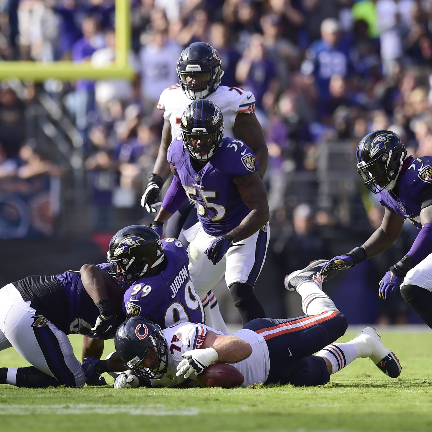 10 Ravens miss Thursday s practice  C.J. Mosley and Jeremy Maclin wearing  non-contact jerseys da75c72ffb75