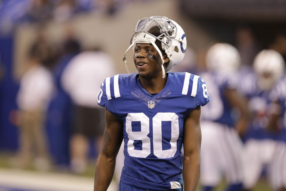 the latest c204a c0b62 The Colts have a good problem at wide receiver - Stampede Blue