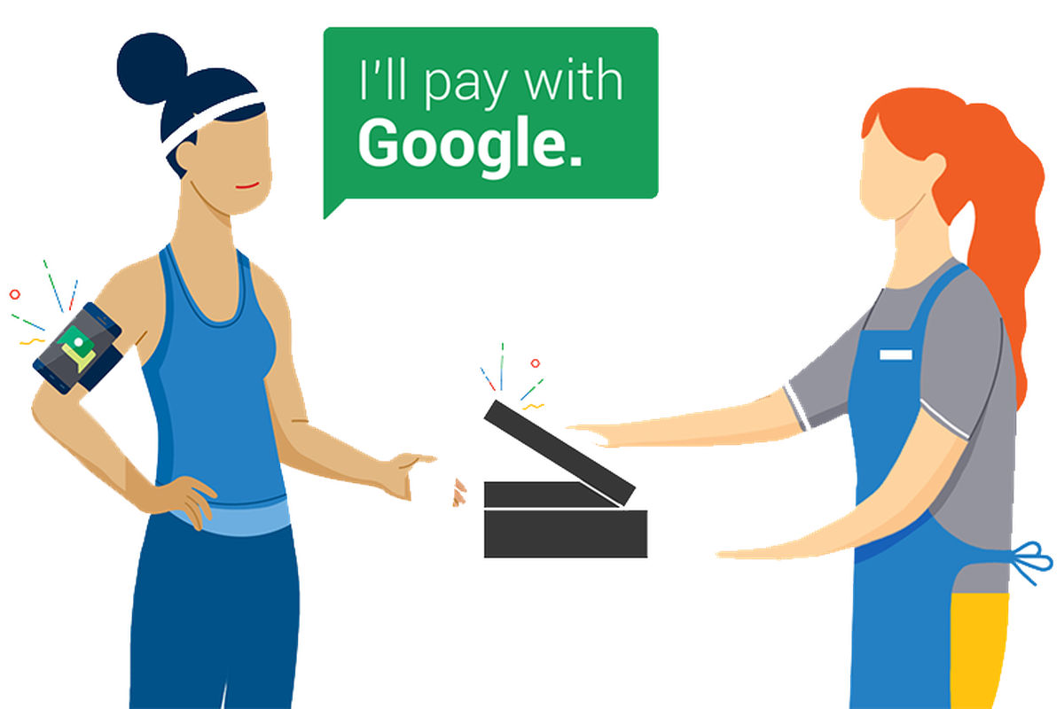 google is killing its experimental hands free payment app the verge