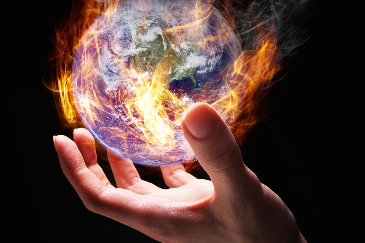 We've got the whole world in our hands.