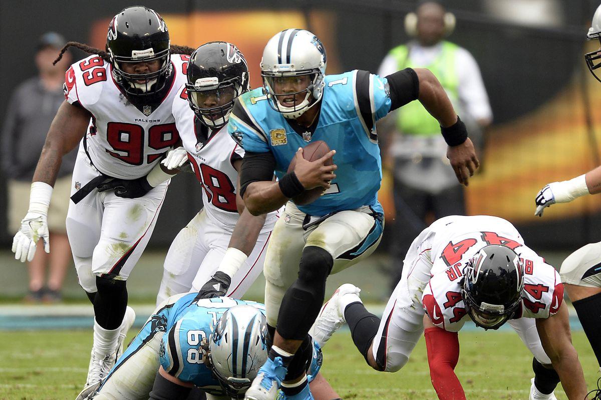 Atlanta Falcons vs. Carolina Panthers