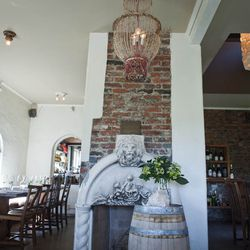 Reminsicent of an Italian country house, the Corson Building is such a charming setting that it has converted those who don't normally take to communal dining. The intimate, rustic setting whisks you away far from the city.