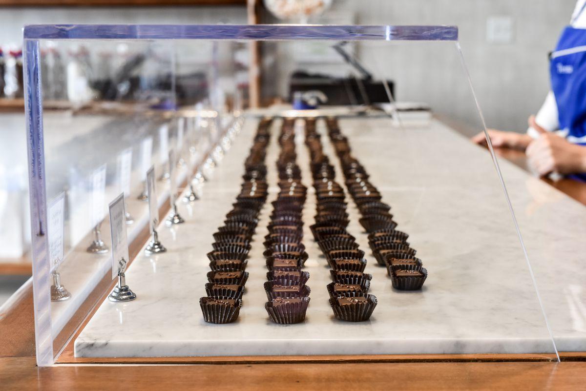 Truffles at Chocolaterie Tessa
