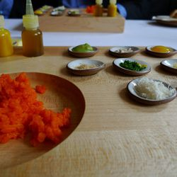 """Carrot Tartare from Eleven Madison Park by <a href=""""http://www.flickr.com/photos/sygyzy/8044581030/in/pool-29939462@N00/"""">sygyzy</a>"""
