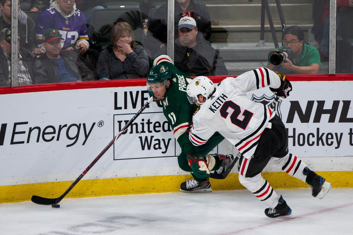 NHL: Chicago Blackhawks at Minnesota Wild