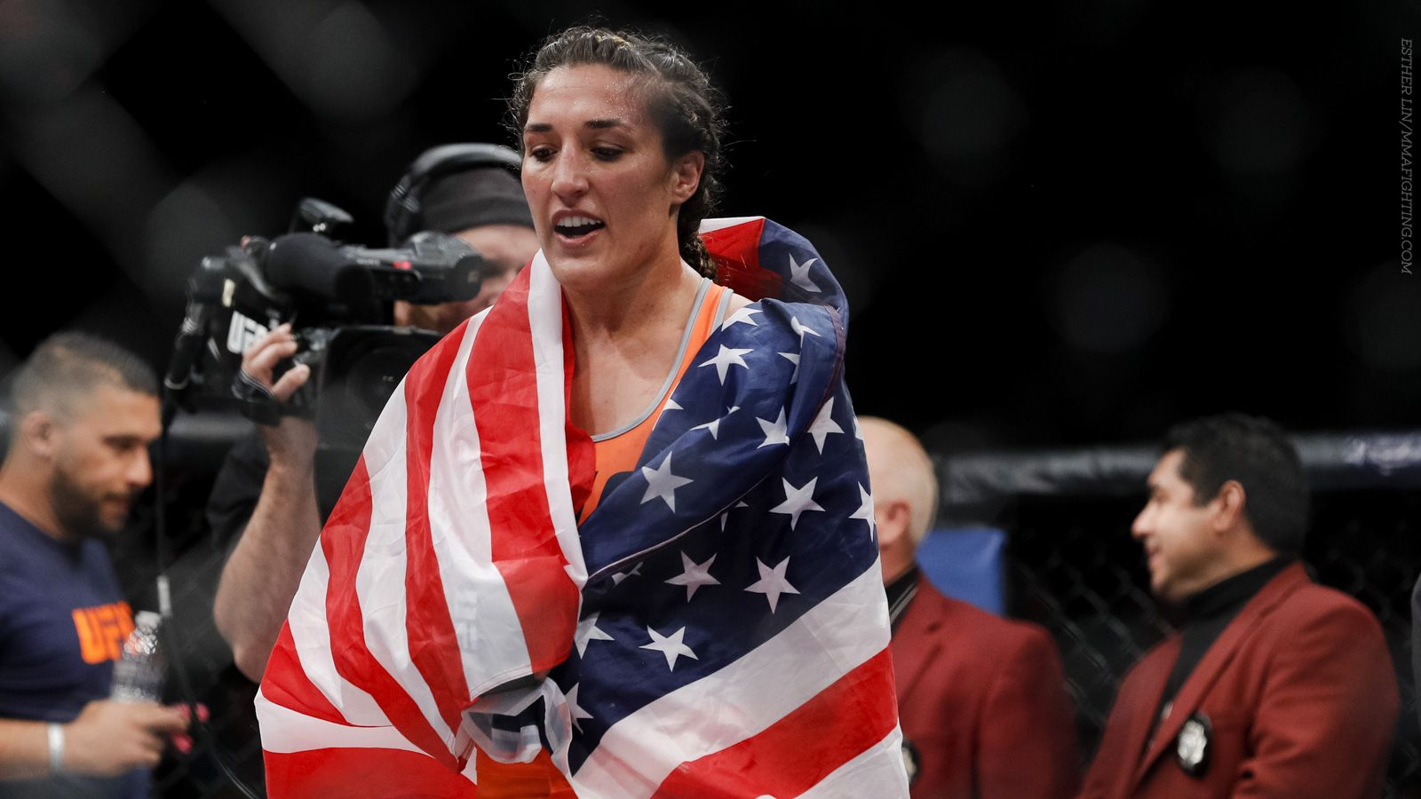 tatiana suarez  viviane pereira meet at ufc fight night