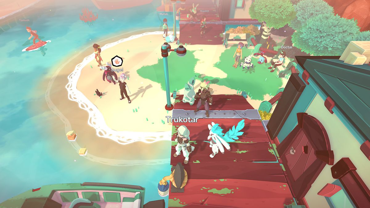 A town in Temtem, populated by players.