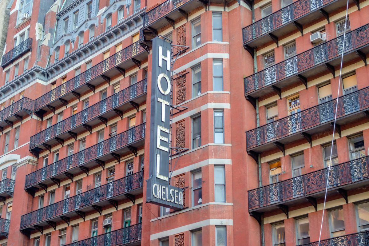 Hotel Chelsea holdout tenants sue to remain in storied building - Curbed NY