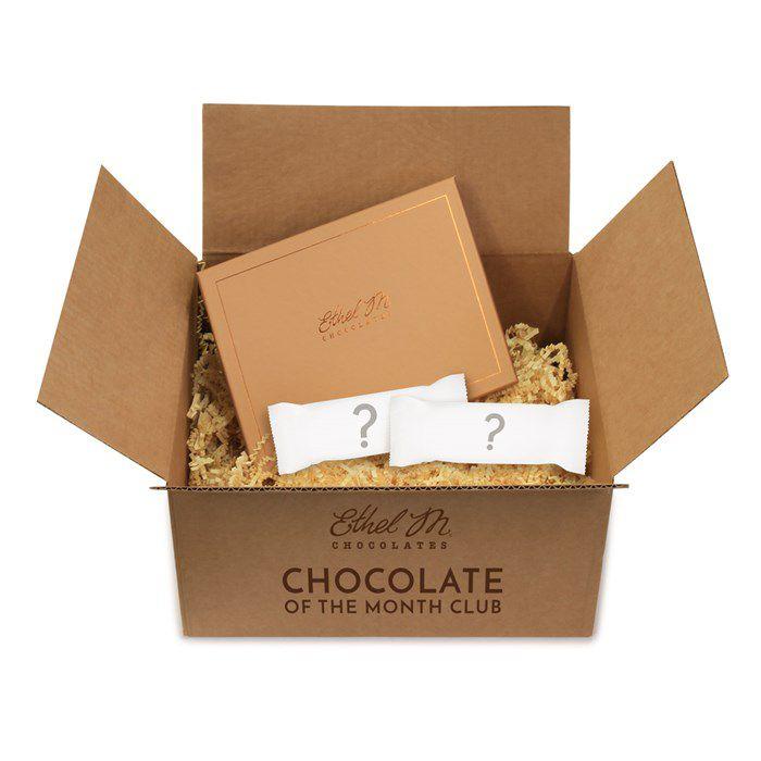 A box of mystery chocolates
