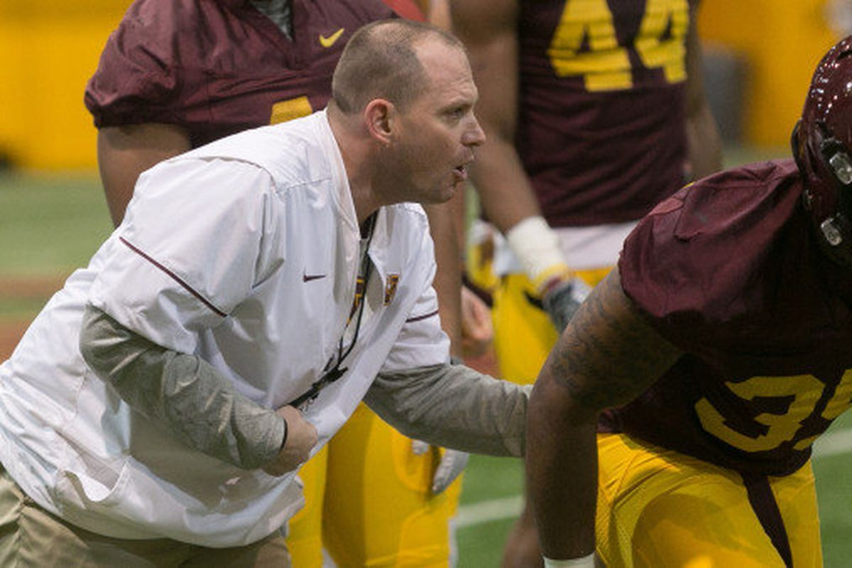 Robb Smith Fired As Minnesota Football Defensive Coordinator The