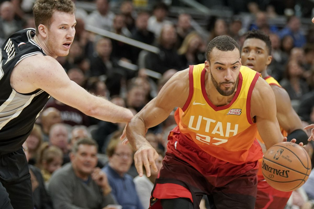 on sale 1aaff b6d0b Spurs coach Popovich says ex-Ute Poeltl just needs more ...