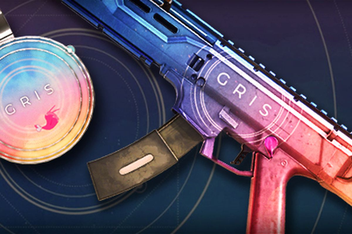 Get Your Gris Themed Gun In Rainbow Six Siege Before It S Too Late
