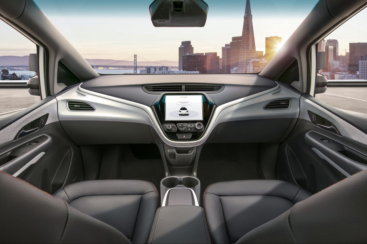 Gm Will Make An Autonomous Car Without Steering Wheel Or Pedals By 2019