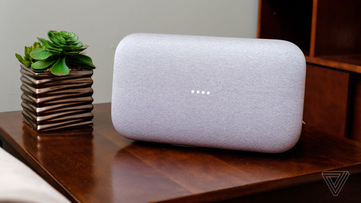 Google Home Max Review Smart Gets Loud The Verge