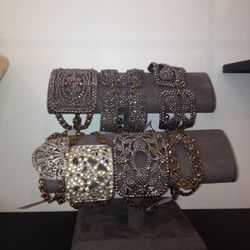 Lulu Frost vintage cuffs, priced as marked