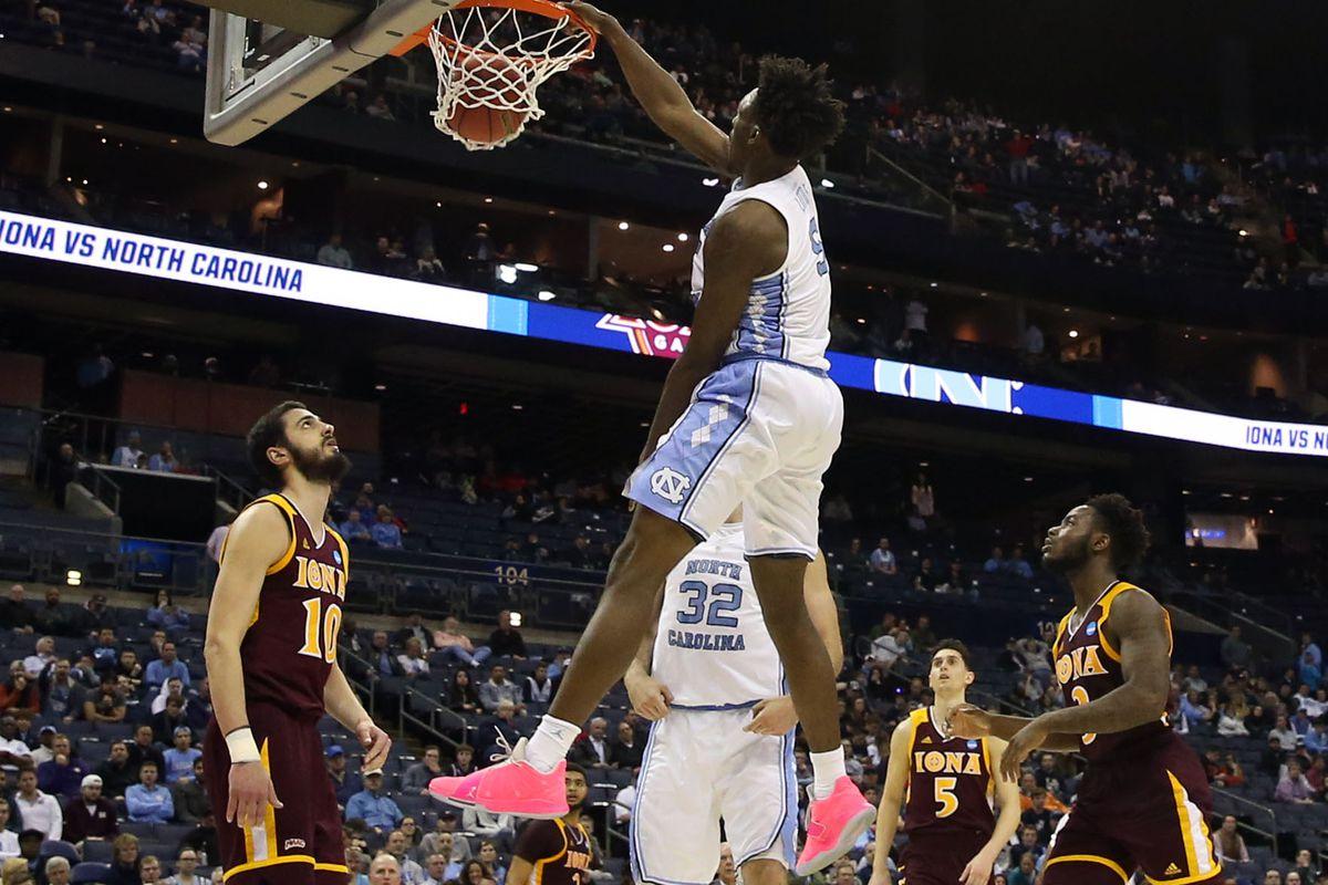 NCAA Basketball: NCAA Tournament- Iona vs North Carolina