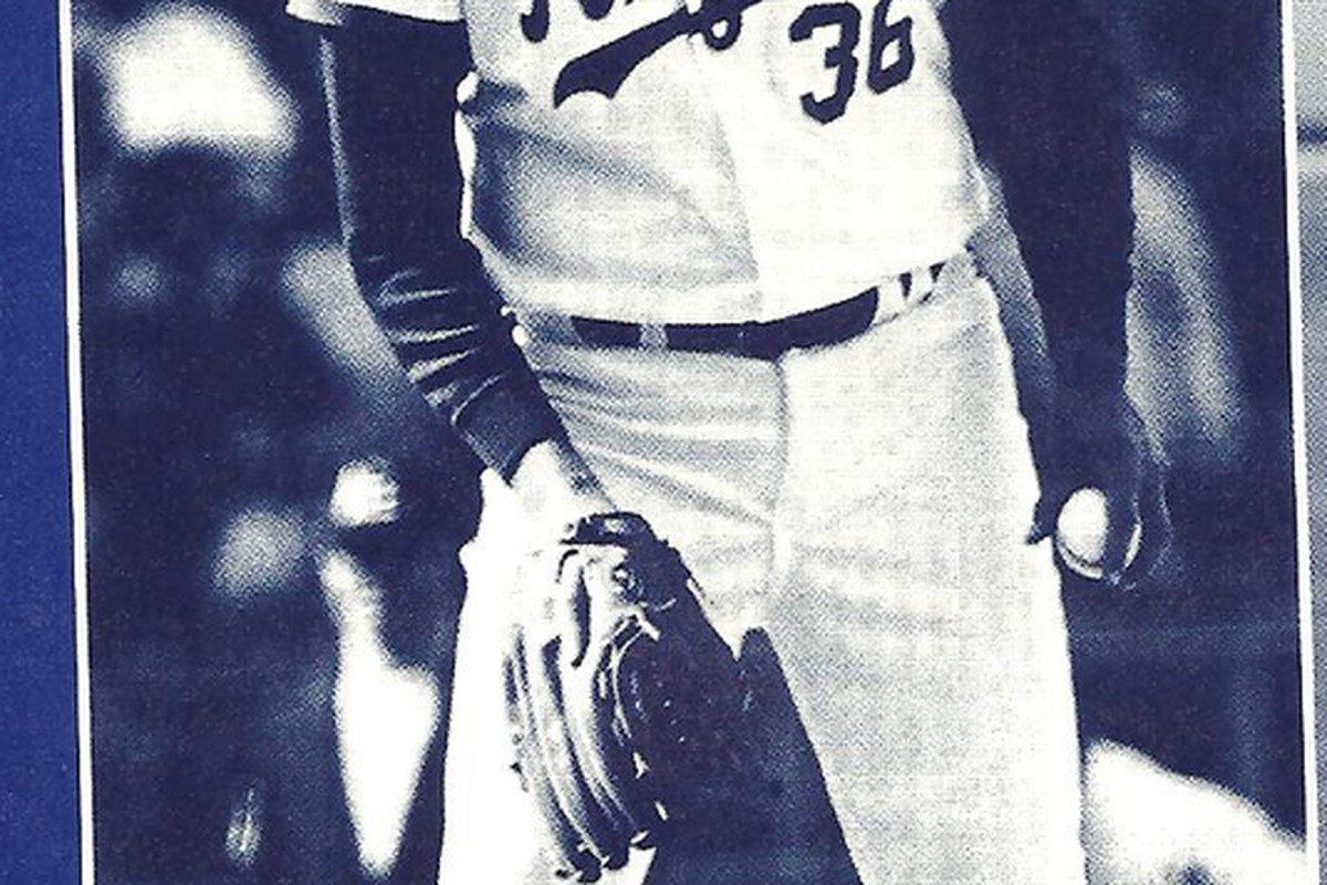 Former Royals left-handed pitcher Bob Tufts, who played for the team from 1982-1983.