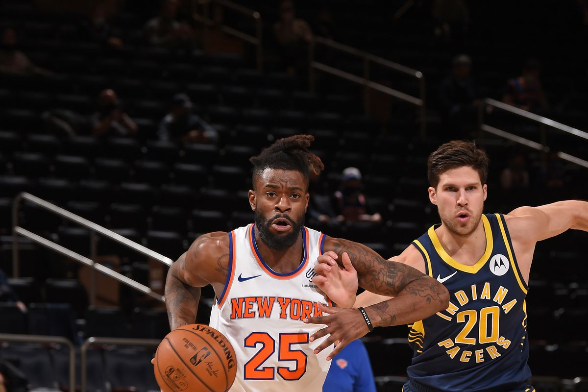 Indiana Pacers Vs. New York Knicks