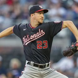 Erick Fedde, Nationals starting pitcher on Tuesday