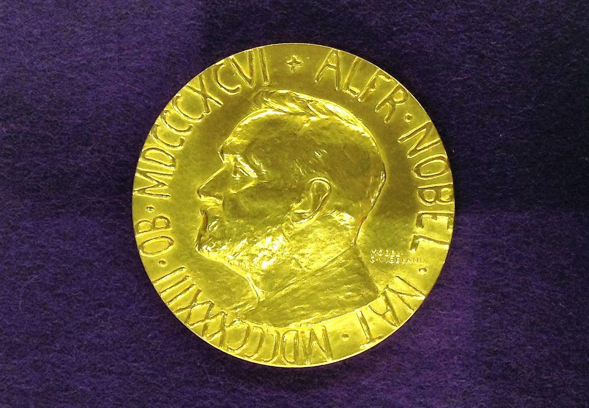 Nobel Peace Prize medal.