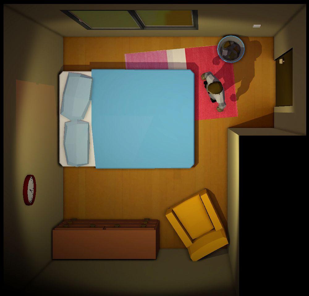 Twelve Minutes bedroom screenshot 1000