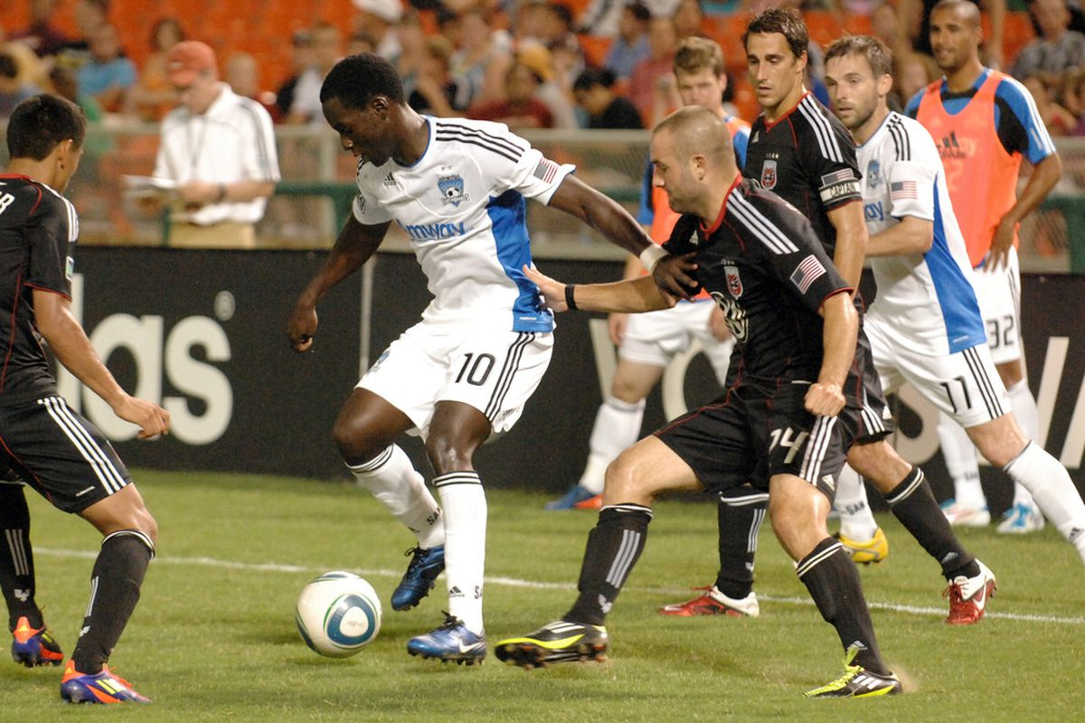 Brandon Barklage has plenty of potential, but played only 38 minutes for United this season