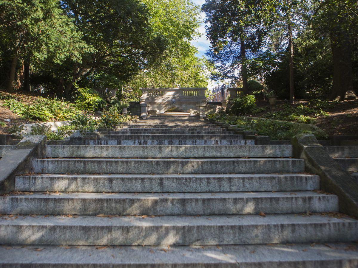 The Spanish Steps in Washington D.C.