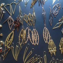 Earrings, $120-$200