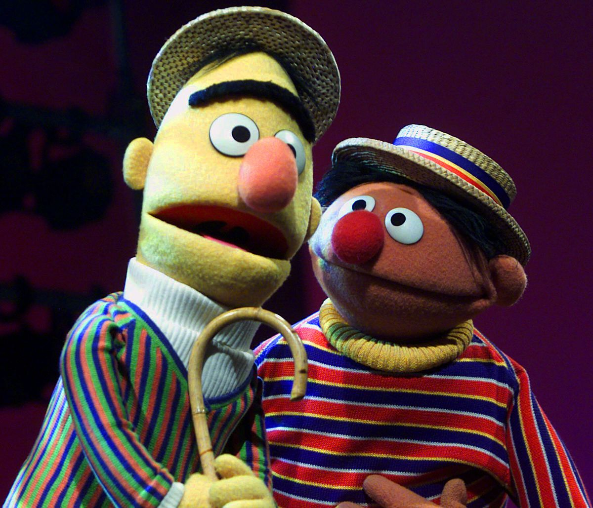 """Ernie and Bert are two of the most popular characters to emerge from """"Sesame Street."""""""