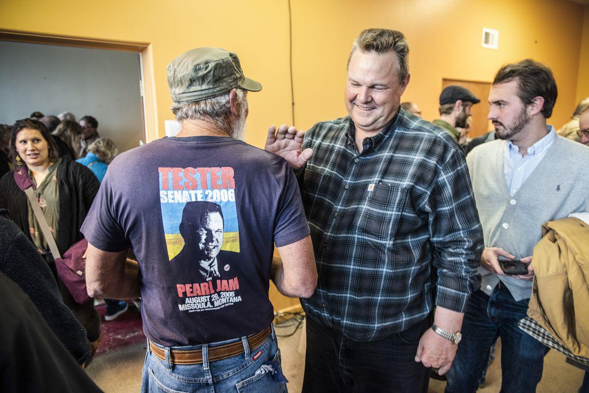 Democrat Jon Tester wins Montana Senate race, defeating Matt
