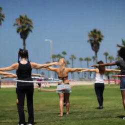 """<b><a href=""""http://www.hoopnotica.com"""">Hoopnotica</a></b> (1700 Ocean Ave): Not even Wham-O's trademarked hip twister is immune to a fitness fad. A hybrid of hula hooping, dance and gymnastics, the workout promises """"a simpler way of sweating"""" via non-stop"""