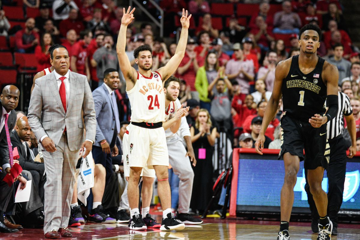 COLLEGE BASKETBALL: FEB 24 Wake Forest at NC State