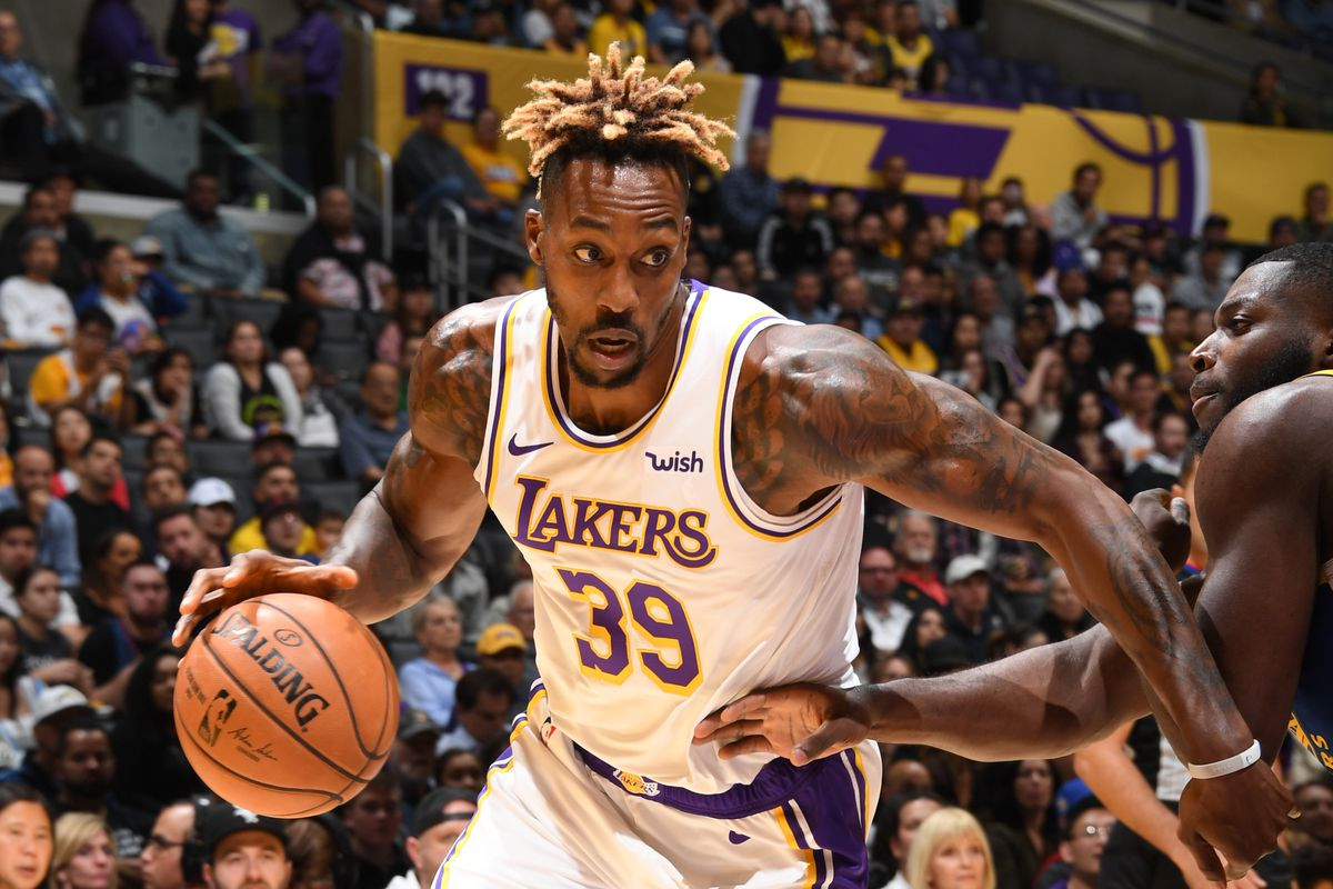 Lakers Vs Warriors Final Score Dwight Howard Dazzles As L A Beat Golden State 104 98 Silver Screen And Roll