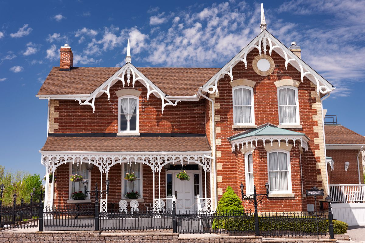 Gothic Revival home.