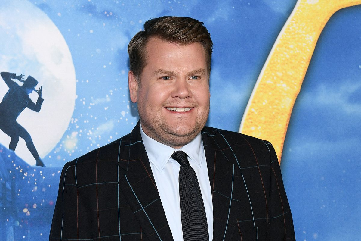 """James Corden attends the 2019 world premiere of """"Cats"""" at Alice Tully Hall, Lincoln Center in New York City."""