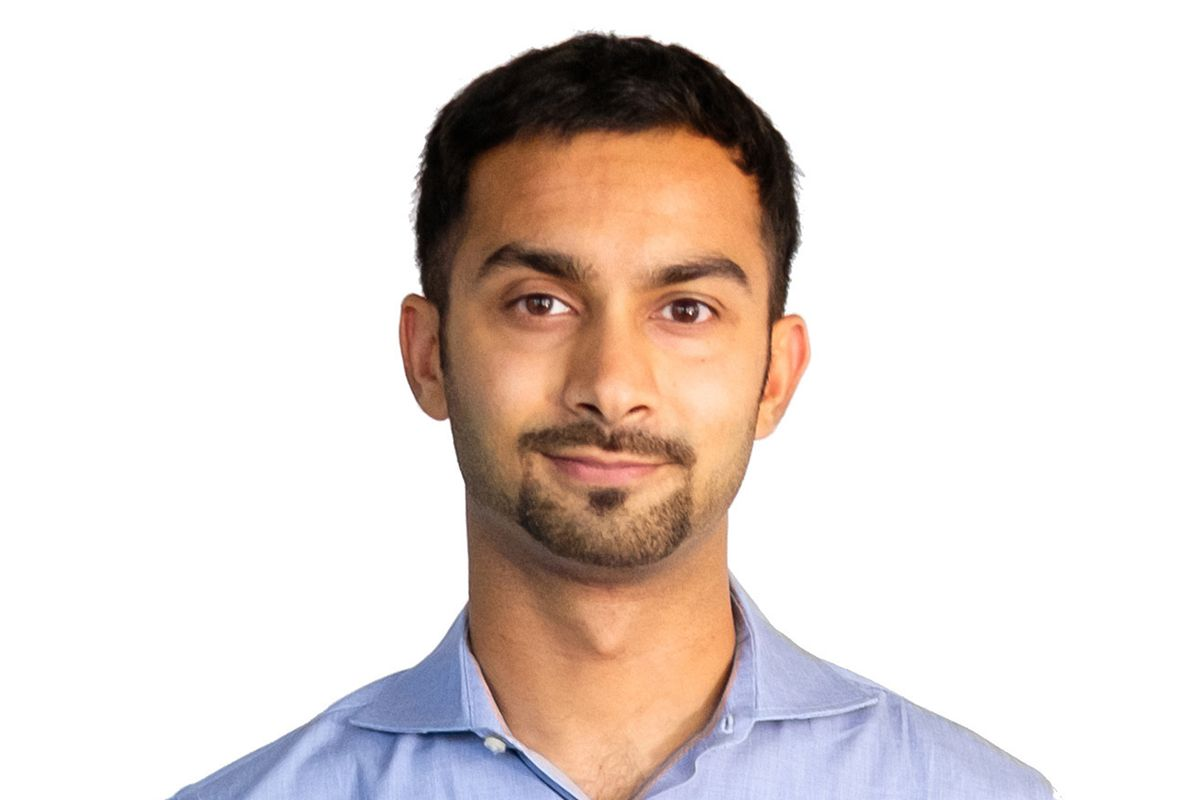 A headshot of Instacart co-founder and CEO Apoorva Mehta