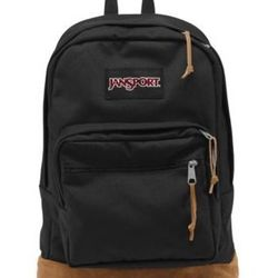 """Because it's a classic, and it's just as comfortable as it was in middle school. <a href=""""http://www.jansport.com/shop/en/jansport-us/black/right-pack-typ7"""">Right Pack</a>, $55 at Jansport."""