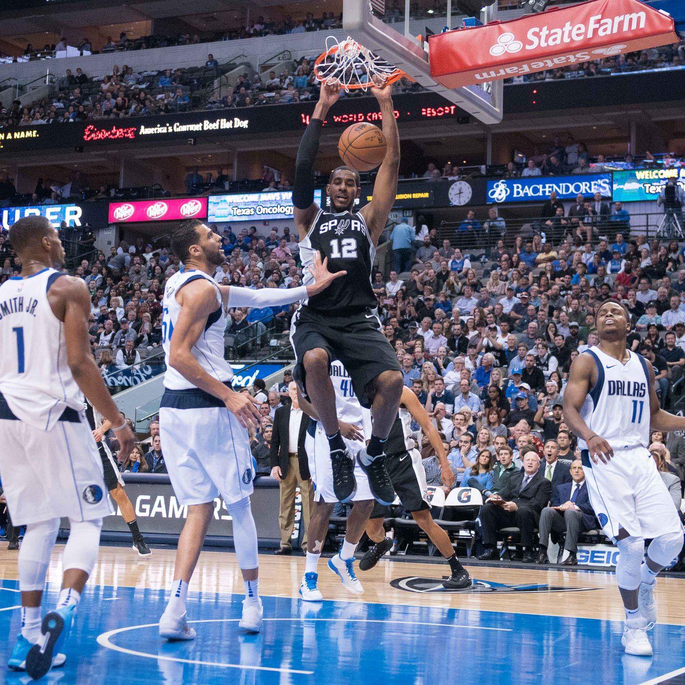 GAME THREAD: Dallas Mavericks at San Antonio Spurs - Mavs