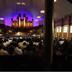 Elder Richard J. Maynes speaks during the Worldwide Devotional for Young Adults from the Tabernacle on Temple Square in Salt Lake City Sunday, May 1, 2016.