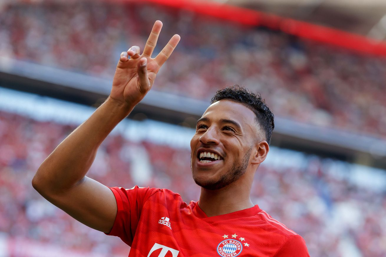 Corentin Tolisso expects a run at the treble for Bayern Munich this season