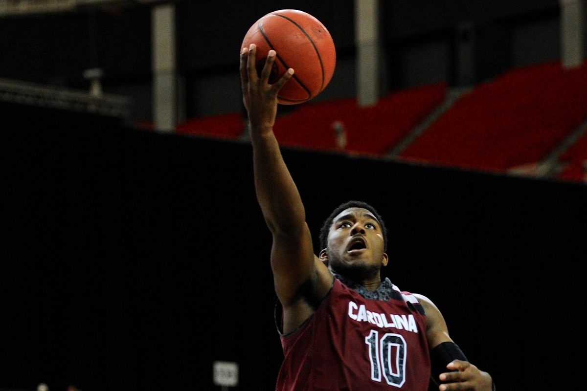 Duane Notice played a huge role in the Gamecocks' 2013-14 season.
