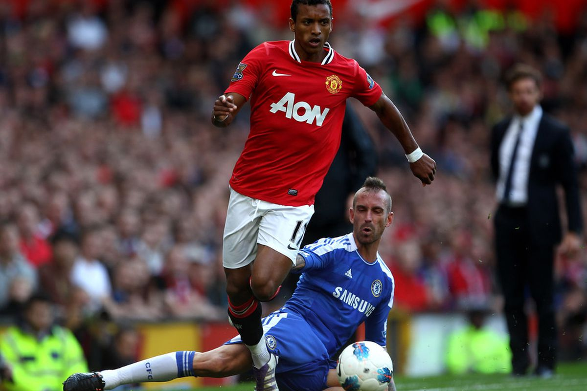 Nani is now recovered from injury and he is expected to travel with the squad to Stamford Bridge. Will he start versus Chelsea FC?